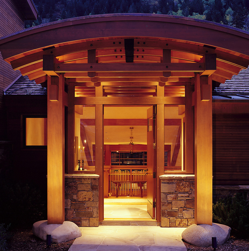 Custom Architecture Entryway