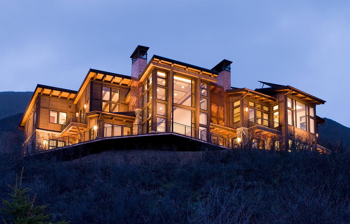 Ridge of Red Mountain Mountain Contemporary Home