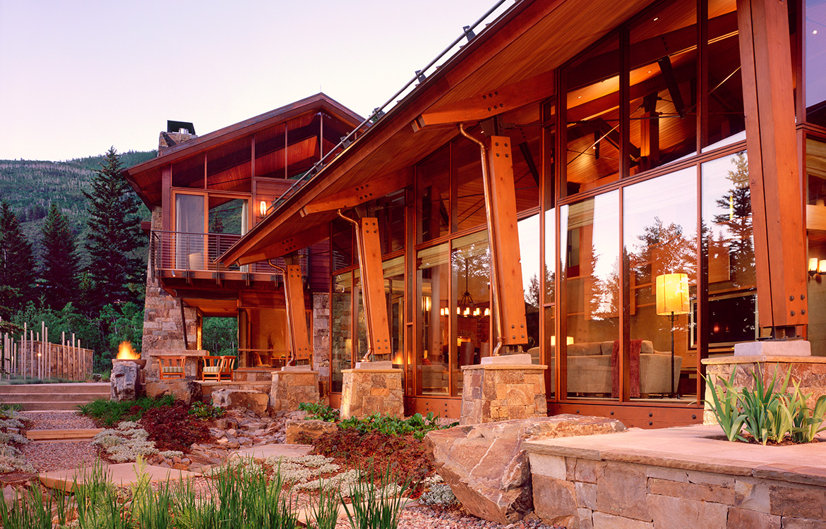 Stillwater Ranch Mountain Contemporary Home