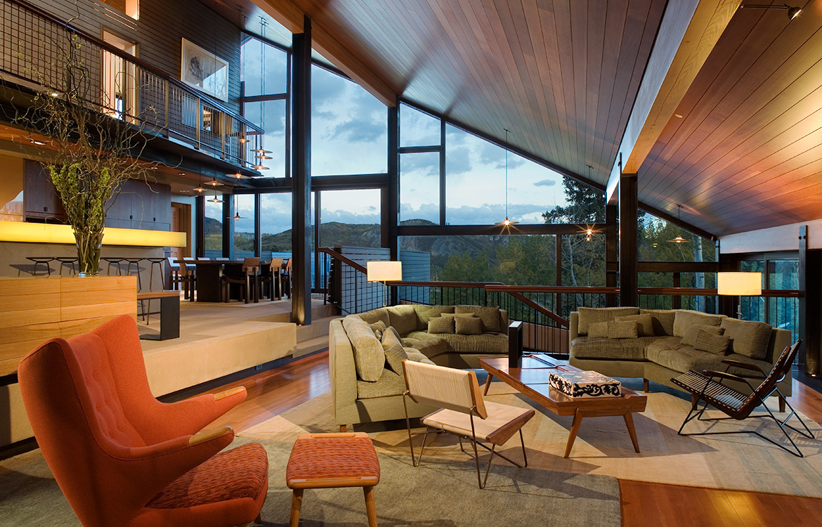 Wood Run Mountain Contemporary Home