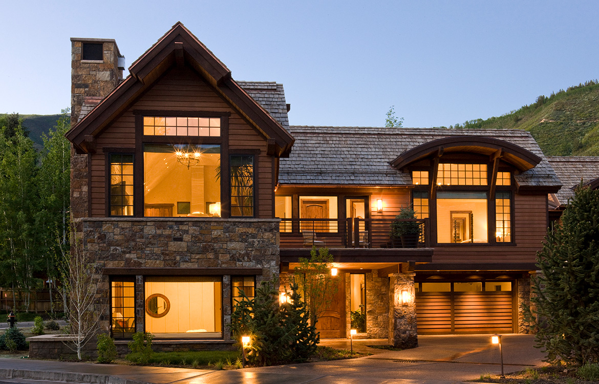 Downtown Aspen Traditional Home